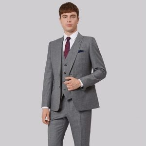 sanpham-3-1-300x300 Slim Fit Light Grey Texture Suit